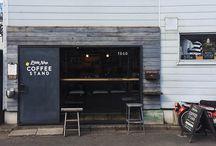 ❤️ DESIGN - Coffee + Tea Shop / Cool Coffeeshops