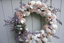 Christmas  / Beach wreath