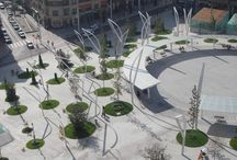 Square, Boulevard Urban Design