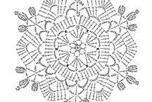 Patron crochet 6 lados