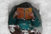 "Winter ""Hot Spots"" / The greatest place in winter time to read a book. What's yours?"