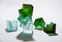 Heike Brachlow-sculptura in sticla