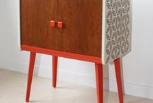 IKEA-hack: stencil + ombre