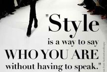 Fashion Quote / What's inspired you every day?