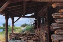 HOUSE: Log houses