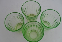 Vintage and Antique Glass / Collection of glass objects from the 20-21st century