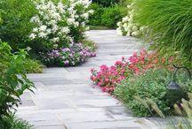 Linear garden design