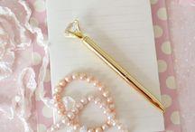 Notebooks & Stuff / Cute office/school supplies