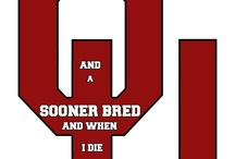 ♥ OKLAHOMA SOONERS / One thing I am absolutely passionate about is my OKLAHOMA SOONERS.  This board is dedicated to the awesome organization that is the SOONER NATION!!!!!!   / by Kimberlye H