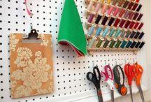 Organizando.... / Formas originales de organizar tu material