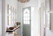 Hal inspiratie / In ons nieuwe huis, ben ik nog op zoek naar mooie blikvangers die sfeer maken in onze entree.