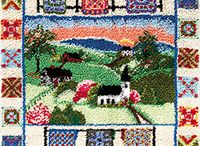 Latch Hook Rug Kits - Landscapes