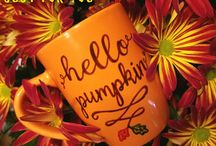 Huey's DIBS:  handpainted mugs and more