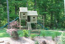 backyard kid-things / by Julie Voisin Zapton