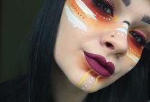tribal war paint