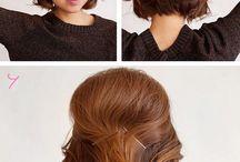 прически короткие волосы