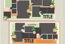 {Picture Perfect 81-84} Digital Scrapbook Templates by Aprilisa Designs