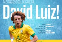 Copa do Mundo Brasil 2014 / Grande e o maior zagueiro que e ja vi Cabeludo David Luiz