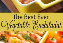 Vegetable Enchilada