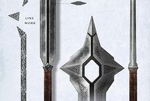 Lord of the rings weapons