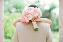 Wedding Bouquet / Peonies Roses