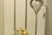 Holz dekorative
