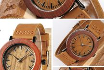 Our Wooden and Bamboo Watches