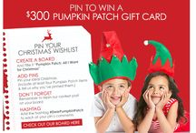 Pumpkin patch : all I want for Christmas