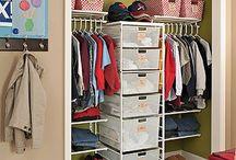 Bedroom organization / by Michelle Pinard Zahn