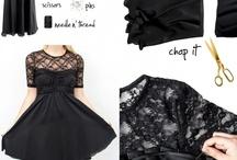 Design, redesign / Sy, klippe, lime, fikse! Klær, sko og tilbehør:)