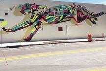 street art animali