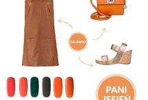 Autumn colours and nails / jesienne kolory i paznokcie
