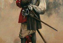 Conquistadores, Europe 15,16,17 emes siecles