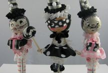 Clothespin dolls and crafts / clothespin dolls
