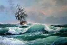 корабль масло