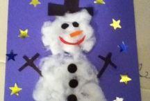 Children's xmas crafts