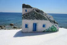 Stenen huisjes