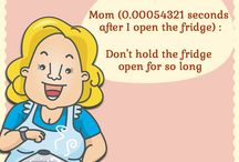 Mom's Food Funda / Every mom has some typical fundas related to Food & Kitchen. we bring you some of these things that every mom has said to her child atleast once! / by Rajshri Food