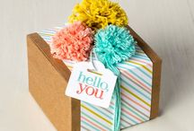 Stampin Up - boxes