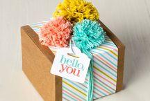 Stampin Gift Wrap