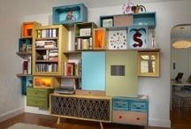 Huize honingbij - kast
