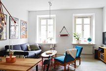 Skandynawskie wnętrze: biała aranżacja w stylu vintage / Autor: Justyna Łotowska http://www.dobrzemieszkaj.pl/cale_wnetrze/85/skandynawskie_wnetrze_biala_aranzacja_w_stylu_vintage,101115.html