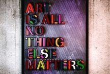 my artful sayings