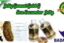 Pengobatan dengan jelly gamat / jelly gamat gold-g