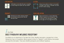 Infographics Typography
