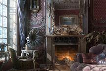 Antique rooms