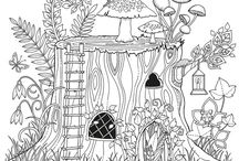 Colouring Pages / Pages i like to colour in while trying to relax.