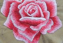Brodera Rosor / Embroidery roses