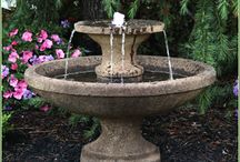 Birdbaths, Fountains and Ornamentals / Back Yard Living carries a wide variety of birdbaths, fountains and ornamentals in our design center. Wander through our 15,000 SF outdoor design center and find the ideal piece that will become the focal point of your yard