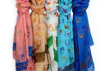 JUST HAPPY SCARVES / This scarf collection is designed to be your classic quality best seller. Happy colours packed in same design selections.    Our amazing Just Happy Scarves collection is really beautiful and top high quality that you really don't find anywhere else.
